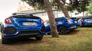 Honda Civic 2017 Blue