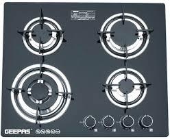 Souq Geepas Burner Black Gas Cooktops Gk4410 UAE
