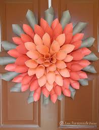 Dahlia Flower Making With Paper Spring Flower Craft Diy Paper Dahlia Wreath Truly Hand Picked