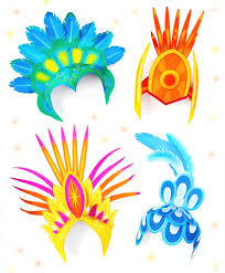 papercraft step by step photo instructions 4 easy homemadecarnival crown headpiece