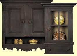 primitive wood pieces shelves curios