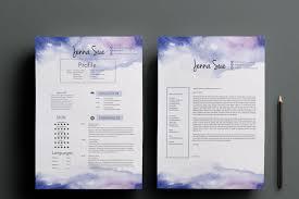 creative cv template cover letter