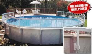 above ground round pool with deck. Fine Ground In Above Ground Round Pool With Deck D