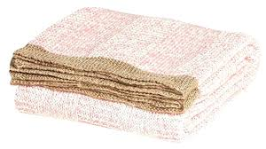 pink throw rug dusty area