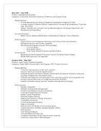 Manufacturing Engineer Resume Sample Web Designer Responsibilities Resume Format For Fresher Best Sample ...