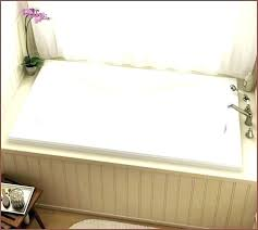 drop in tub ideas bathtub tile base design within desi