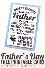 Printable Fathers Day Cards C R A F T