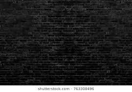 black brick texture. Black Brick Wall Texture Background I