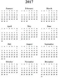 Free Printable, 2017 Yearly Calendar – Emily Ley … | calendars ...