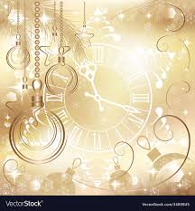 gold christmas background. Brilliant Christmas Gold Christmas Background With Clock Vector Image On Background G