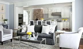 gray and white living room charcoal gray sofa transitional living room gray and brown living room