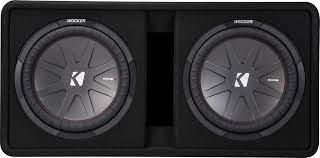 Best Buy: KICKER CompR Dual 12
