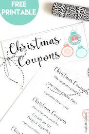 Make A Printable Coupon Printable Coupon Book Diy Gift Idea Consumer Crafts