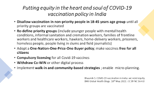 covid 19 vaccination in india we need