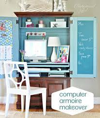 Lofty Idea Office Armoire Desk Manificent Decoration 17 Best Ideas About Computer  Armoire On Pinterest