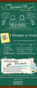 5 Teacher Resume Mistakes Employment Boost