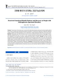 Functional Health Patterns Impressive Psychometric Evaluation Of The Functional Health Pattern Assessment