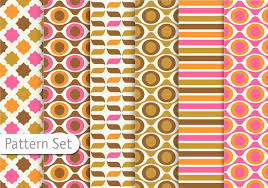 Retro Pattern Enchanting Retro Pattern Free Vector Art 48 Free Downloads