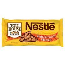 nestle toll house erscotch morsels
