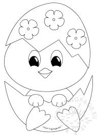 Small Picture Baby Chick Coloring Pages Part 2 Free Resource For Teaching
