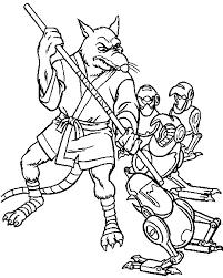 Gratis Ninja Turtles Kleurplaten Voor Kinderen 1