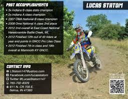 ... lucas-statom-2015-sponsorship-resume-past ...