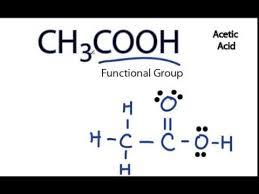ch3co2h acetic acid lewis structure