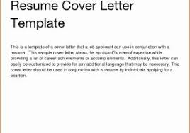 Examples For Cover Letter For Resume Enomwarbco How To Prepare A Of ...