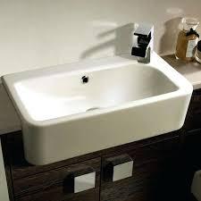 semi recessed bathroom sink roper slim depth semi recessed basin kohler semi recessed bathroom sink