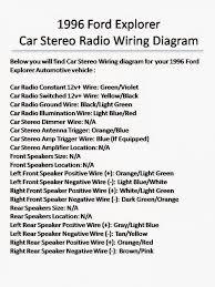 2004 ford explorer sport trac radio wiring diagram wiring 2000 ford explorer radio wiring diagram at 2001 Ford Explorer Sport Trac Radio Wiring