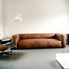 contemporary leather sofa sleeper. love this vintage design leather sofa #cognac #sofa contemporary sleeper
