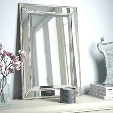beveled bathroom vanity mirrors. Bathroom Mirror With Restoration Hardware Beaded Fashionable Ideas Beveled Vanity Mirrors Furniture Direct Outlet Restorat .