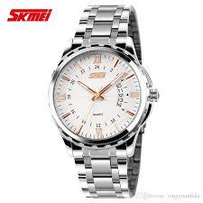 watches men luxury brand skmei stainless steel watches waterproof keywords stainless steel watches quartz watch watches men luxury brand