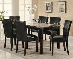 marble dining room furniture. Carter Dark Brown Wood And Marble Dining Table Set Room Furniture G