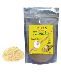 haley s natural kit thanaka powder grade groz 15g for hair removal gm haley s natural kit thanaka powder grade groz 15g for hair
