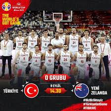 FIBA 2019 Dünya Kupası (O Grubu) ⛹🏻♂... - Türkiye Basketbol Federasyonu