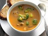 broccoli mushroom chowder