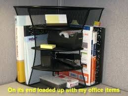 office cubicles accessories. Office Cubicle Accessories Features Of The Mesh 2 Way Corner Shelf Unit Desk Cubicles R