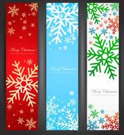 Free Vertical Christmas Banner Clipart And Vector Graphics Clipart Me