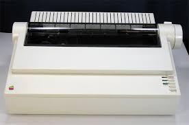 apple 2gs. apple imagewriter ii printer a9m0310 2gs
