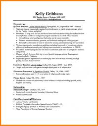 Template Teacher Education Emphasis Resume Template Teaching Sample