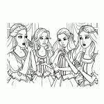 25 Zoeken Barbie En De Drie Musketiers Kleurplaat Mandala