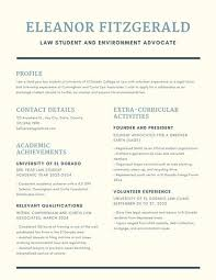 Scholarship Resume Interesting Customize 40 Scholarship Resume Templates Online Canva