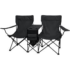 double camping chair with table design ideas