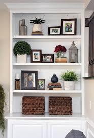 Living Room Bookshelf Decorating Ideas Stagger Best 25 Room Bookshelves  Ideas On Pinterest 4