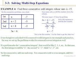 william james calhoun 2001 3 3 solving multi step equations 3b