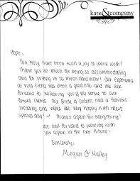 Thank You Letter Samples Appreciation Letter Sample Template