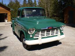 56 Chevy Pickup (Stock)   Bowtie   Pinterest   Chevy pickups ...