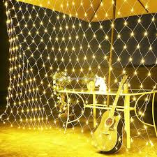 Outdoor Net Lights Warm White Promotional 200pcs Warm White Led Net Light Bushes Lights