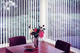 fabric vertical blinds. Beautiful Vertical Fabric Vertical Blinds In The Breakfast Nook Allows You To Control How Much  Privacy And Light In Blinds L